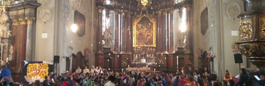 Erstkommunionwallfahrt in der Basilika