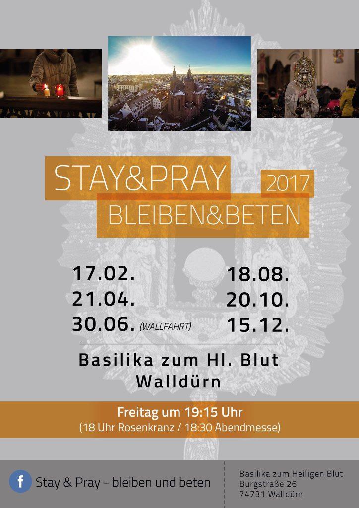 Stay & Pray 2017