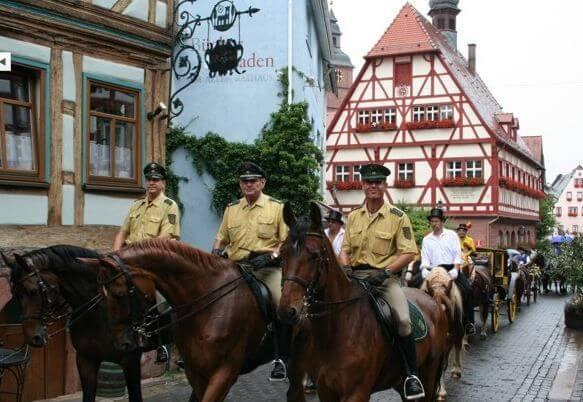 Pferdewallfahrt Prozession