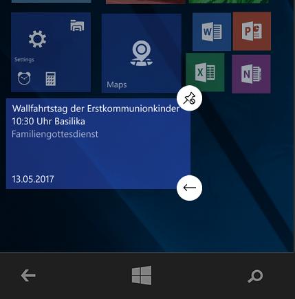 Windows 10 Emulator -Größe ändern