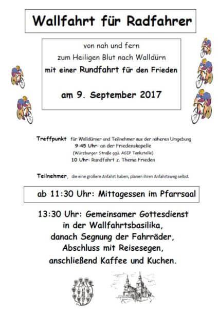 Radwallfahrt 2017