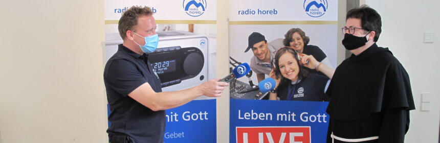 Stadpfarrer Pater Josef im Interview mit Radio Horeb