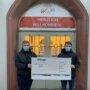 Spendenübergabe Ministranten Walldürn